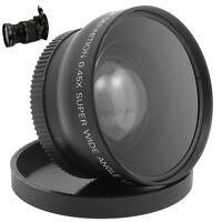 52MM 0.45 x Wide Angle Macro Lens for Nikon D3200 D3100 D5200 D5100 BS