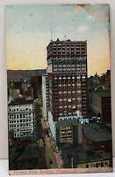 Pittsburgh Farmers Bank Building Pittsburg Pa 1907 Postcard D5