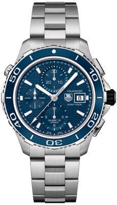 Tag Heuer Aquaracer Cak2112.ba0833 Automatic 500m Chronograph Ceramic Watch