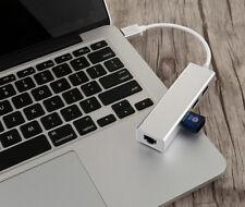 Mini USB3.0 HUB/Gigabit Ethernet RJ45 LAN Network Adapter for Linux Windows PC
