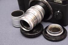Steinheil Cessar VL 36mm 2.8 D-Mount 8mm Cine Lens Pentax Q Tested