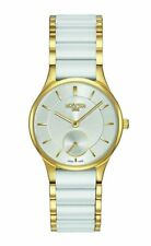Roamer Ceraline Saphira White Ceramic Women's Quartz Watch 677855 48 15 60