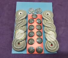 PRE 1900 VICTORIAN LORD LIEUTENANTS BUTTONS AND EPAULETTE SET