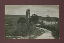 Devon WIDECOMBE-IN-THE-MOOR Church & farm c1930/50s? RP PPC by Chapman