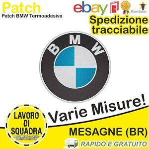 Patch Toppa BMW Auto Moto Car Racing M power Serie 1 2 3 4 5 6 7 Sport Ricamo
