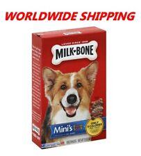 Milk-Bone Mini's Flavor Dog Biscuits Treats 15 Oz WORLDWIDE SHIPPING
