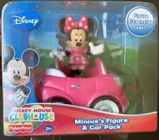 Disney Minnie Mouse Pink Car Fisher-Price Mickey Clubhouse Toy Gift New NWT