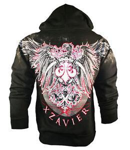 BNWT XZAVIER BURNING PHOENIX HOODIE S M L XL XXL MMA UFC