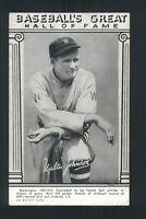 1948 Exhibits Baseball's Great Hall of Fame WALTER JOHNSON VG/VGEX 132414