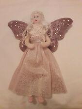 Needle Felted Wool Vintage Ballet Fairy Angel Wings Ballerina OOAK Handmade