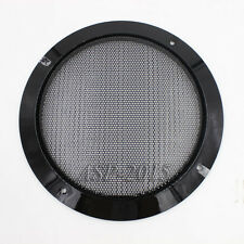 1pc 8inch Speaker Coaxial Steel Sub Mesh 8'' Sub Grills Cover 207mm Black