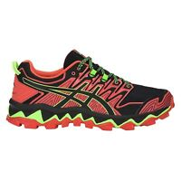 Asics Gel-Fujitrabuco 7 Mens Trail Running Trainer Shoe Red/Black - UK 8.5