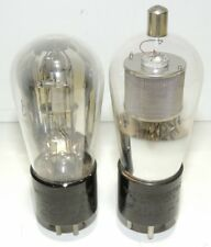 Western Electric 247A & 259A Tubes Engraved Bases Tested 28/23 & 48/23 Exc Tubes