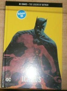 DC Comics Legend of Batman hardback Graphic Novels Collection #96 Icarus