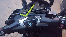BMW C650GT (ALL) ANODIZED CNC CROSSBAR (for GPS,Action Camera,Cell.,Cup,Speaker)