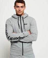 Superdry Mens Core Sport Zip Hoodie