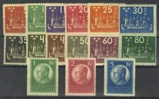 Suecia. MH Yv 163A/77. 1924. Series Completa. Magnifica. Yvert 2013 : 850 Euros