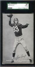 1948-49 Sports Champion Exhibit,Baugh,SGC50,Black/White Tint,HOF
