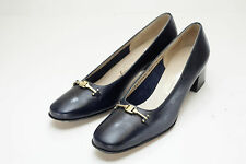 Salvatore Ferragamo 6.5 AAA Black Pumps Women's Shoes