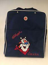 KELLOGGS TONY THE TIGER TRAVEL CARRY ON DUFFLE DUFFEL BAG  HANDLE Omaha Vtg