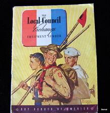 BOY SCOUT - NOVEMBER 1939 SCOUT EXECUTIVE - EQUIPMENT CATALOG