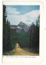 Folkard Card BANFF ALBERTA   Banff - Jasper Highway, Rocky Mountains