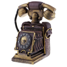 Antique Phone Ornaments Retro Rotary Dial Telephone Desk Decoration