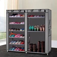 Shoe Boot Closet Rack Shelf Storage Organizer Cabinet 9 Layer