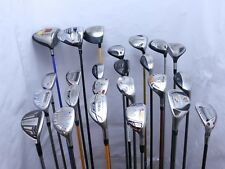 Lot of 24 Golf Club Drivers Fairway Woods Hybrids Taylormade Callaway Adams