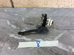 CAMPAGNOLO RECORD Carbon FRONT DERAILLEUR Braze On  With A Clamp In Good Cdn