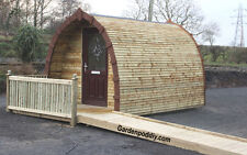 Glamping or Garden Pod For Under $1000 (£900) Full & Easy DIY Plan Garden Shed