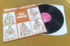 """Full House"" Fairport Convention ""SUPERBE UK vinyled rare PINK ISLAND LP 1 G 1 A"