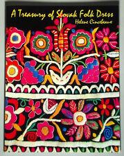 NEW BOOK Slovak Folk Dress ethnic costume embroidery vest skirt blouse gold KROJ