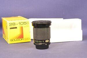 Soligor 28-105mm f/3,5-4,5 Macro Pentax KA Objektiv in OVP