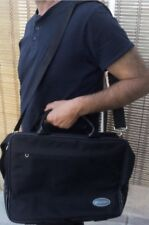 """10 CARRY BAGS NEW Jaganet for 17"""" Laptop/Notebook Classic black briefcase style"""