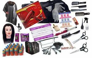 Zeepk Complete Cosmetology Beauty School Student Kit Tote Bag Manikin head