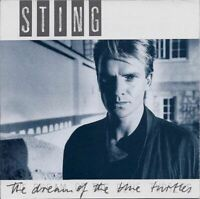 STING the dream of the blue turtles (CD, album, early press, no barcode, 1985)