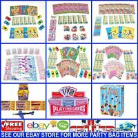 Job Lots Wholesale Cheap Bargain Kids Birthday Party Bag Stocking Fillers Gifts
