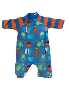 Baby Boy Girl Unisex Swimming Costume Sun Suit SPF Suit 6-9 Months Mini Club