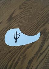 Colt Ford Country Singer Musician  Signed White Guitar Pick Guard
