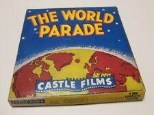"Castle Films #234 Reel Tape w/Box THE WORLD PARADE ""Americ's Wonderland"""