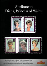 DIANA, PRINCESS OF WALES ROYAL MAIL A4 POSTER FOR COMMEMORATIVE STAMP ISSUE