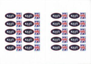 GB 2020 ** NEW ** NAFFI Centenary Smilers Sheet - Ref: BC-523