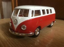 KinsMart Volkswagen Classical Bus 1962 1:32 scale metal car
