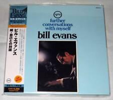 Bill Evans - Further Conversations With Myself / JAPAN MINI LP CD (2008) NEW