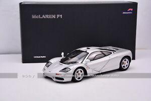 AutoArt 1:18 McLaren F1 Silver