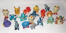 Figuras de Pokemon Nintendo x19 aleatorio Juguetes Vulpix Pikachu Totodile utilizado