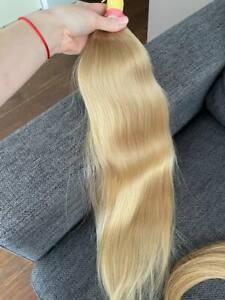 Natural slavic hair