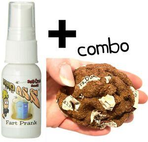 Liquid Ass Spray Bottle + HIGH QUALITY Homemade Fake Crap Poop Turd ~ ( combo )