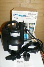"""Tsurumi F-13 Auto Submersible Pump Dewatering Pump 115V 17' Head 3/4 Or 1 1/4"""""""